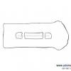 ยางฝาวาวล์ ESCAPE 2.3L / Valve Cover Gasket, 1S7G6K260AA