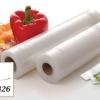 ถุงซีลสูญญากาศลายนูน แบบเป็นม้วน (Roll) ขนาด 28cm X 10m