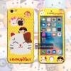 เคสประกบหน้าแข็ง หลังนิ่ม Maneki Neko iPhone 5/5S/SE