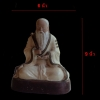 พระบูชา เทพจีน เนื้อดินเจียะ