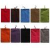 ถุงผ้ากำมะหยี่ใส่มือถือ 1 ช่อง 10 นิ้ว ขนาด 27.5 * 22.5 cm