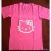 เสื้อยืด สกรีนลาย Hello Kitty ไซด์ S-M-XL สำหรับสาวอวบ-อวบมาก