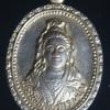 เหรียญกะไหล่ทอง พระโพธิสัตว์กวนอิม วัดพระศรีรัตนมหาธาตุ อ.เมือง จ.พิษณุโลก ปี 2536