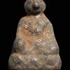รูปหล่อหลวงพ่อเนียม ยุคแรก เนื้อชินตะกั่ว วัดน้อย สุพรรณบุรี