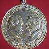เหรียญ President Nixon's Visit Peking หลัง President Nixon's Visit Moscow ปี1972 (พ.ศ.2515)