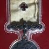 เหรียญกาชาดสมนาคุณ ชั้นที่ 3 เนื้อเงินรมดำ ปี2514