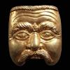 เหรียญหน้าพรานมโนราห์ พ่อท่านลาภ วัดเขากอบ จ.ตรัง
