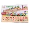 ของเล่นไม้สวมหลัก สอนจำนวนนับ 1-10