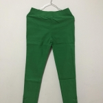 กางเกงยืดสีเขียวคริสต์มาส skinny