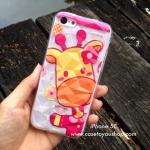 เคสซิลิโคน 3D สีใส พิมพ์ลาย #03 รุ่นไอโฟน 5c