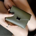 กระเป๋าสตางค์พริ้นเซส สีเขียว