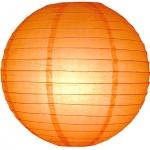 20 cm. โคมไฟกระดาษ ส้ม