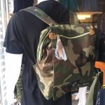 กระเป๋าเป้ ขนาด กลาง ลายพราง ANELLO แท้ จากญี่ปุ่น