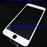 กระจก iPhone 6 Plus พร้อมขอบจอ + กาว OCA สีขาว