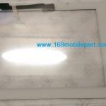 ทัชสกรีน (จอนอก) iPad 3 (The New iPad) ปุ่มโฮม+กาว 3M สีขาว
