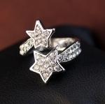 แหวนประกายดาวคู่