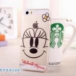 เคสยางนิ่ม บาง ใส Minnie Mouse iPhone 4/4S