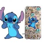 เคสใส สกรีนลายเส้นนูน Stitch iPhone 5/5S/SE