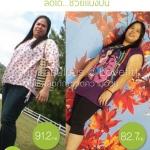 ประสบการณ์ลดน้ำหนัก แบบไม่ต้องใช้อาหารเสริมลดน้ำหนัก จากคุณแป้ง (credit lovefit)