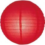 30 cm. โคมไฟกระดาษ แดง