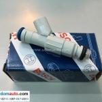 หัวฉีดน้ำมัน FORD FOCUS 1.8-2.0L (รูปจริง) / Fuel Injector, 1S7G-9F593-GA, LF01-13-250A