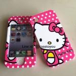 เคสประกบหน้า-หลัง Kitty 03 iPhone 4/4S