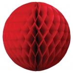 15 cm. โคมรังผึ้ง แดง