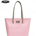 กระเป๋า Patola รุ่น M totebag หนังด้านpu สีชมพูเทา