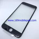 กระจก iPhone 6 Plus พร้อมขอบจอ + กาว OCA สีดำ