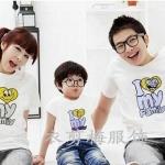 เสื้อครอบครัวแฟชั่นสไตล์เกาหลี ใส่ทั้งครอบครัวดูน่ารัก (3 ชุด)