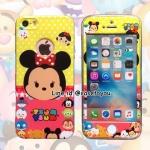 เคสประกบหน้าแข็ง หลังนิ่ม Minnie iPhone 6/6S