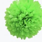 25 cm. พู่กระดาษ เขียว