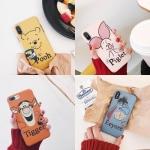 เคสนิ่ม ลายการ์ตูน Pooh & Friend iPhone 6/6S