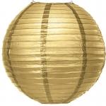 20 cm. โคมไฟกระดาษ Gold