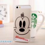 เคสยางนิ่ม บาง ใส Mickey Mouse iPhone 4/4S