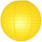40 cm. โคมไฟกระดาษ เหลือง