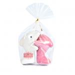 กระปุกพริกไทย เซรามิคปลาโลมากอดกัน แพ็คถุงพลาสติก