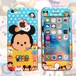เคสประกบหน้าแข็ง หลังนิ่ม Mickey iPhone 6/6S