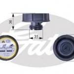 ฝาปิดกระป๋องพักน้ำ FIESTA (เฟียสต้า) / Cap, LF5015205A