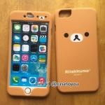 เคสประกบหน้า-หลัง Rilakkuma iPhone 6 Plus และ 6S Plus
