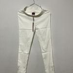 กางเกงยืดสีขาว Skinny
