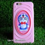Doraemon เคสสีชมพู ซิลิโคนนิ่ม iPhone 4/4S