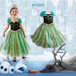 เดรส Frozen เจ้าหญิงอันนา