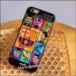 เคสฟุตบอลทีม Barcelona 02 iPhone 6 Plus/ 6S Plus