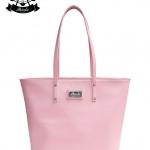 กระเป๋า Patola รุ่น M totebag หนังด้านpu สีชมพู