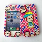 เคสประกบหน้า-หลัง Monkey iPhone 4/4S