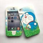 เคสประกบหน้า-หลัง Doraemon 01 iPhone 4/4S