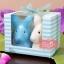 กระต่ายคู่เซรามิกใส่เครื่องเทศ แพ็คเกจของชำร่วย thumbnail 2