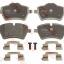 ผ้าดิสเบรคหน้า MINI COOPER R56-R59 (ปี06+) หน้ากว้าง / Front Brake Pads, TRW, 34112289146
