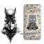 เคสใส สกรีนลายเส้นนูน Batman iPhone 6 Plus/ 6S Plus thumbnail 1